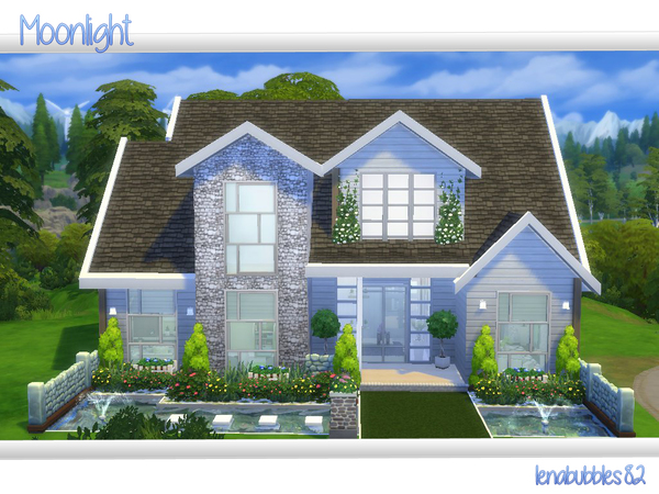 Moonlight House By Lenabubbles82 At Tsr 187 Sims 4 Updates