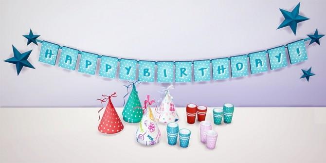 Birthday Decor (TS3 to TS4) at Dream Team Sims image 2453 670x335 Sims 4 Updates