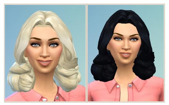 Sims 4 Madonna Hair at Birksches Sims Blog