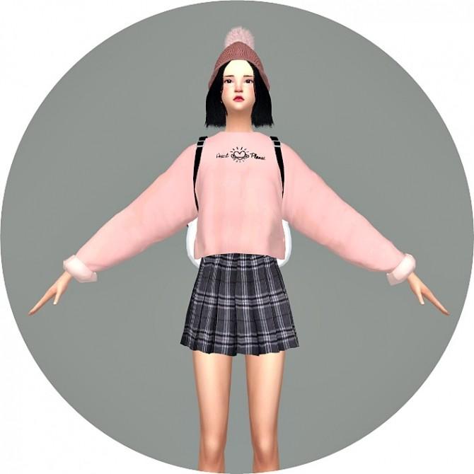 Sims 4 Batwing Sleeve Sweatshirt V1 at Marigold