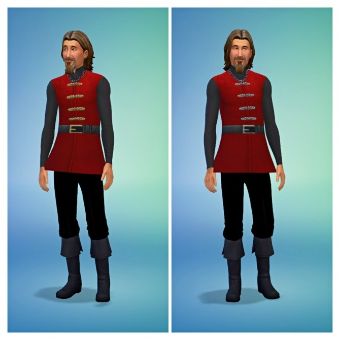 Medieval Male Shirts at SimDoughnut image 2474 670x670 Sims 4 Updates