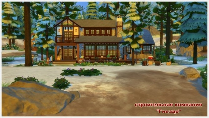 Winters Tale house at Sims by Mulena image 248 670x381 Sims 4 Updates