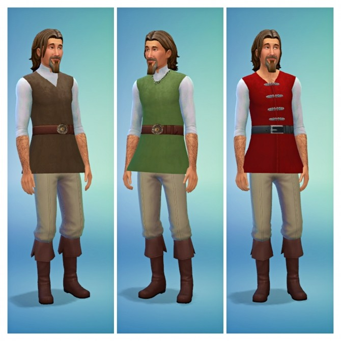 Medieval Male Shirts at SimDoughnut image 2484 670x670 Sims 4 Updates
