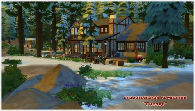 Winters Tale house at Sims by Mulena image 249 670x381 Sims 4 Updates