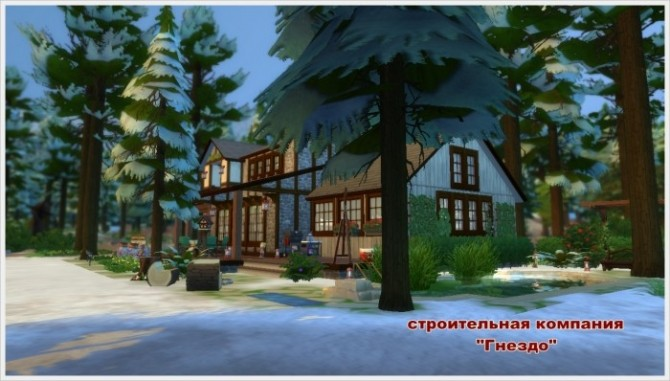 Winters Tale house at Sims by Mulena image 250 670x381 Sims 4 Updates