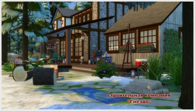 Winters Tale house at Sims by Mulena image 251 670x381 Sims 4 Updates
