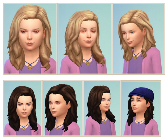 Sims 4 Little Leonardo Hair at Birksches Sims Blog