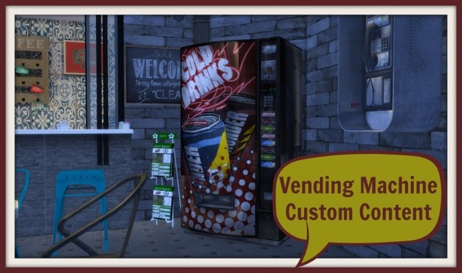 Vending Machine at Dinha Gamer image 26210 670x396 Sims 4 Updates