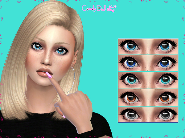 Candy Doll Real Eyes Set By Divadelic06 At Tsr 187 Sims 4
