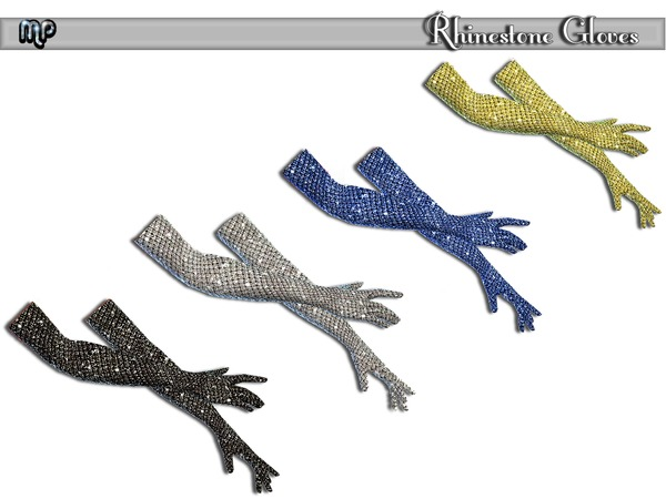 Sims 4 MP Rhinestone Gloves and Bodysuit at BTB Sims – MartyP