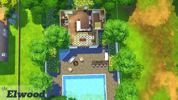 Elwood house at 4 Prez Sims4 image 2752 Sims 4 Updates