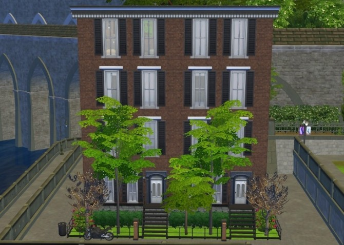 Old urban apartments by akaichi at mod the sims sims 4 for Classic house sims 4