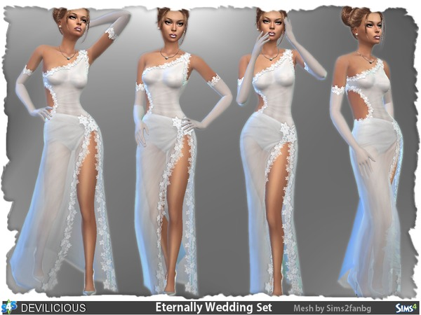 Eternally Wedding Set By Devilicious At Tsr 187 Sims 4 Updates