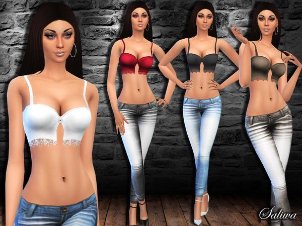 Sims 4 Venus Outfit by Saliwa at TSR