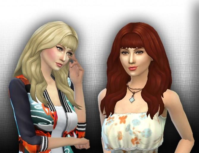 Sims 4 Calm Wind hair at My Stuff