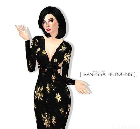 Sims 4 Golden Globes 2016 dresses part 2 at Leeloo
