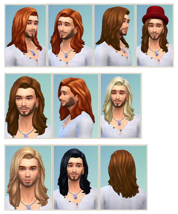 Leonardo Hair at Birksches Sims Blog image 2882 Sims 4 Updates