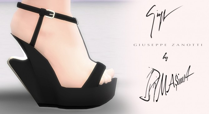 Sculpted Wedge Sandals by MrAntonieddu at MA$ims4 image 29112 670x366 Sims 4 Updates