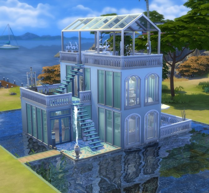 Sims 4 Nymph Vessel by Alrunia at TSR