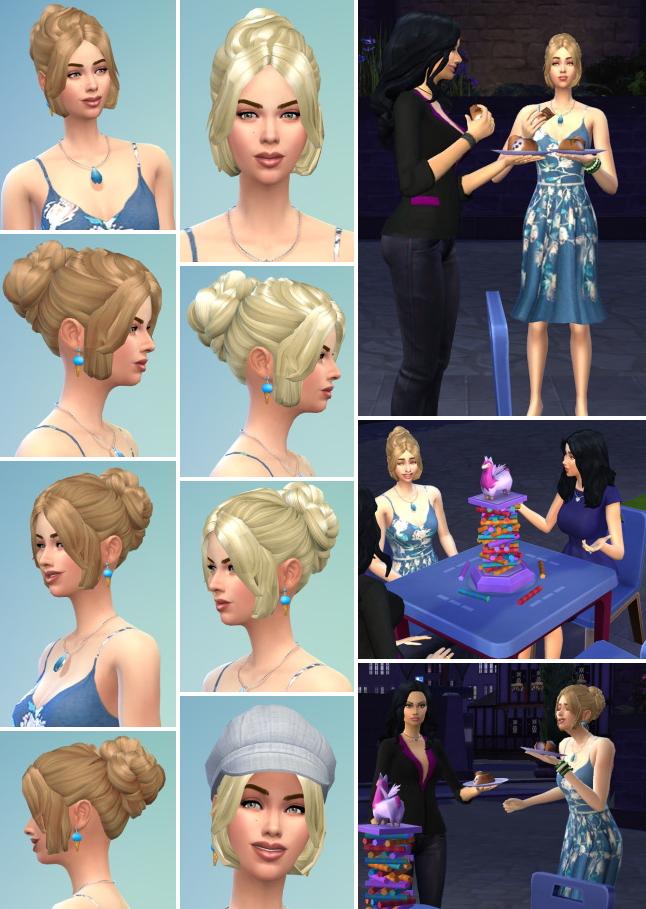 Sims 4 Lara Hair at Birksches Sims Blog