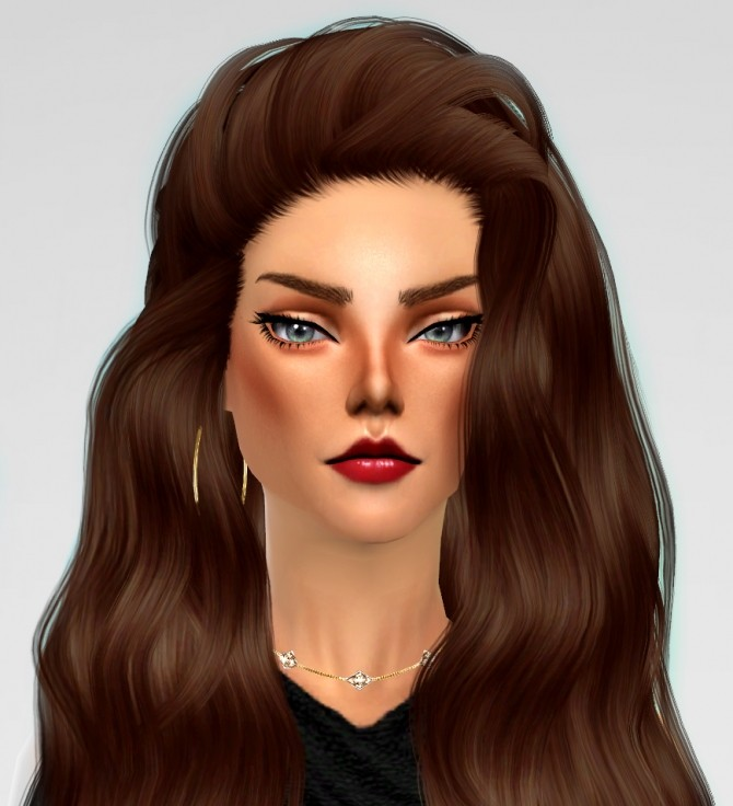 Sims 4 Anastasia Fawn by BellaTheBlueJay at TSR