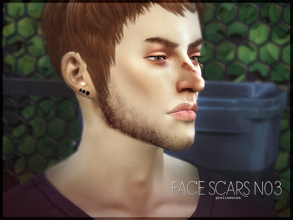 Face Scars N03 by Pralinesims at TSR image 3101 Sims 4 Updates