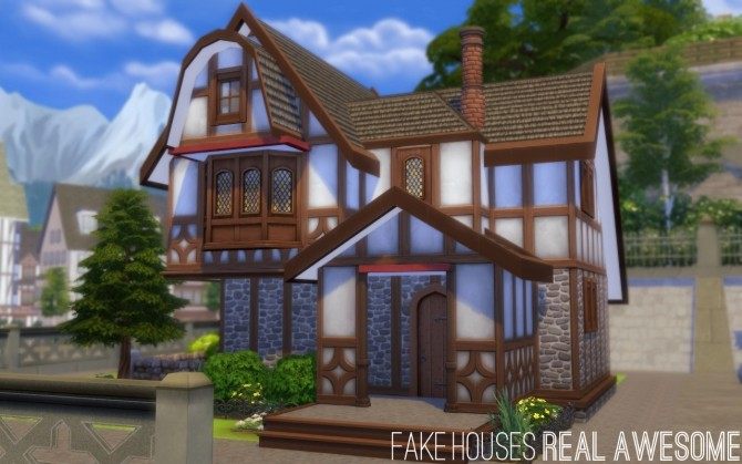 Bloxham house at fake houses real awesome sims 4 updates for Awesome sims