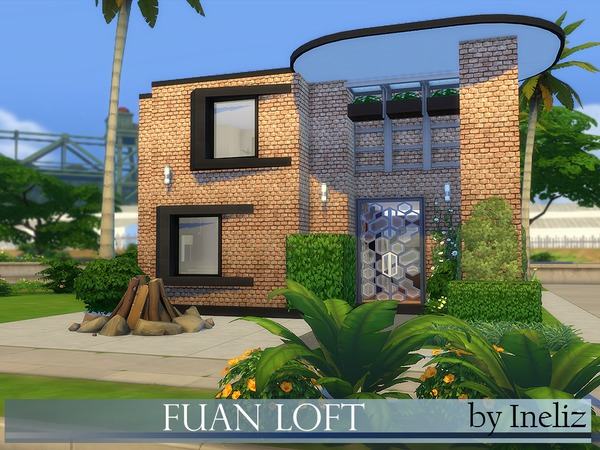 Fuan Loft by Ineliz at TSR image 3210 Sims 4 Updates