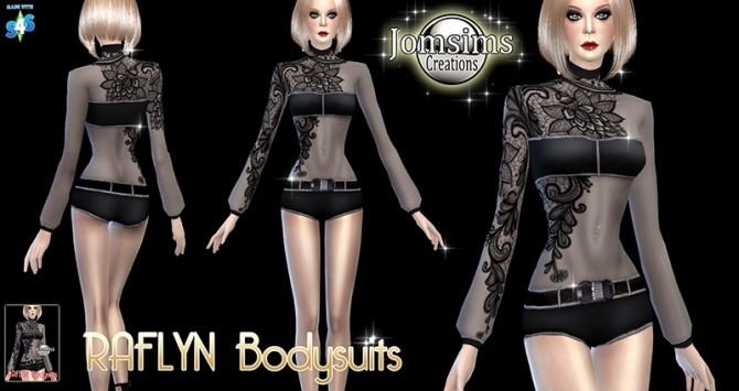 Sims 4 Raflyn Bodysuits at Jomsims Creations
