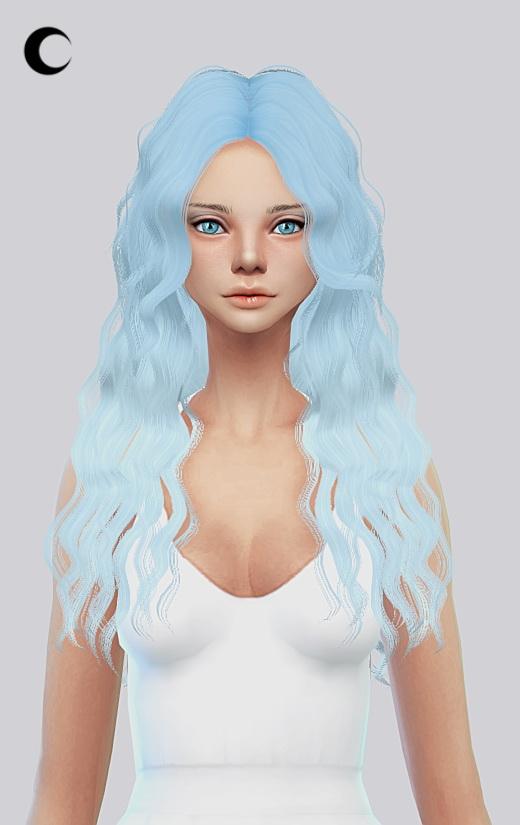 Sims 4 Brit12 hair texture at Kalewa a
