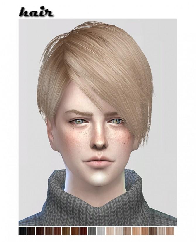 Retexture of Delvia (mmmmeherrr) converted hair at ShojoAngel image 3361 670x829 Sims 4 Updates