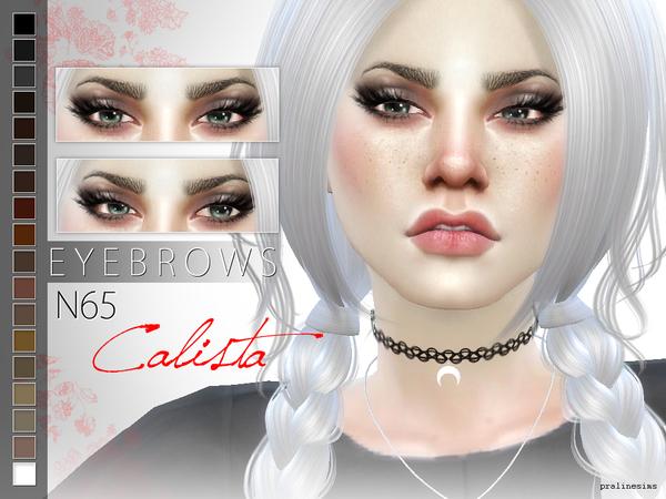 Sims 4 Eyebrow Bundle N08 by Pralinesims at TSR