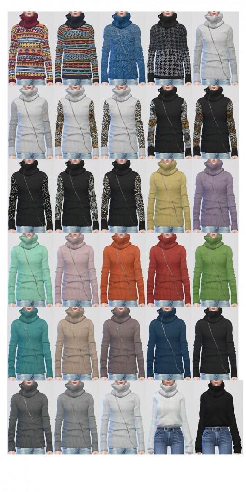 2 sweaters at ShojoAngel image 3451 500x1000 Sims 4 Updates