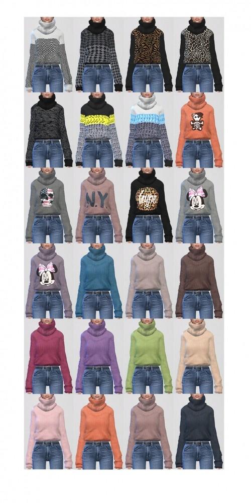 2 sweaters at ShojoAngel image 3461 500x1000 Sims 4 Updates