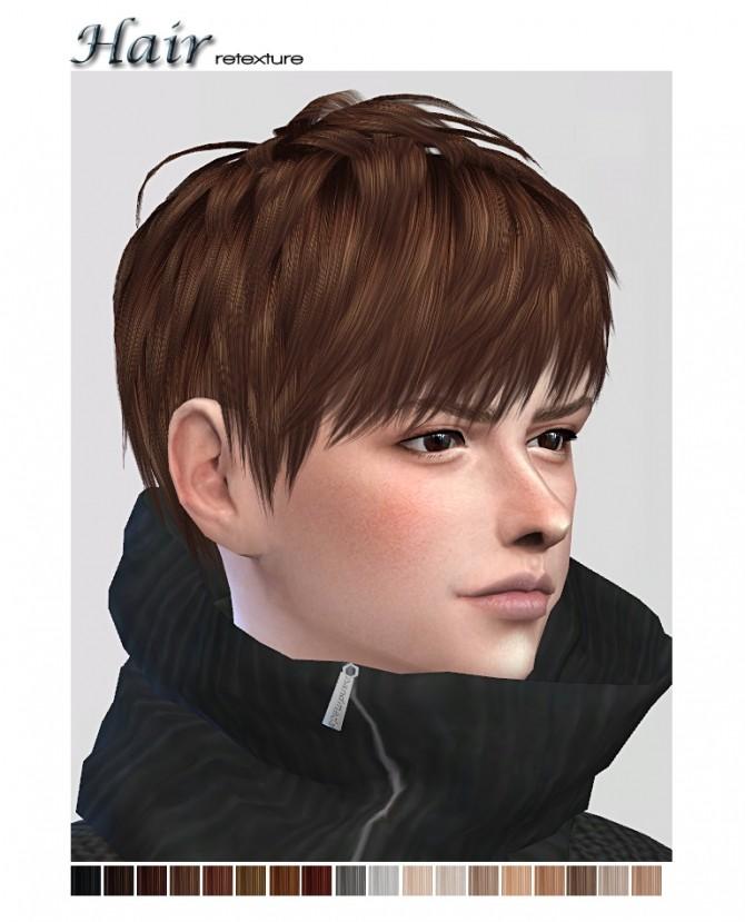 Retexture Of Ryuffys Short Layered Hair At ShojoAngel