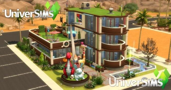 Sims 4 Kidzie Planet park at L'UniverSims