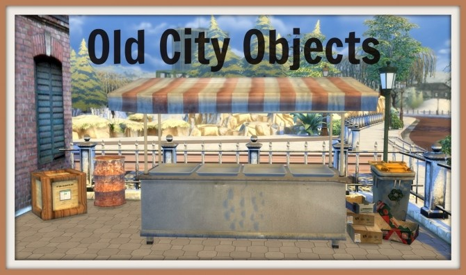 Old City Objects at Dinha Gamer image 3612 670x396 Sims 4 Updates