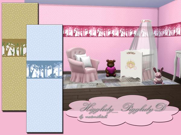 Sims 4 MB Higgledy Piggledy D wallpaper by matomibotaki at TSR