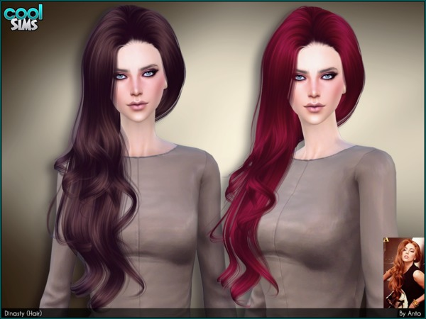 Dynasty (Hair) by Anto at TSR image 3625 Sims 4 Updates