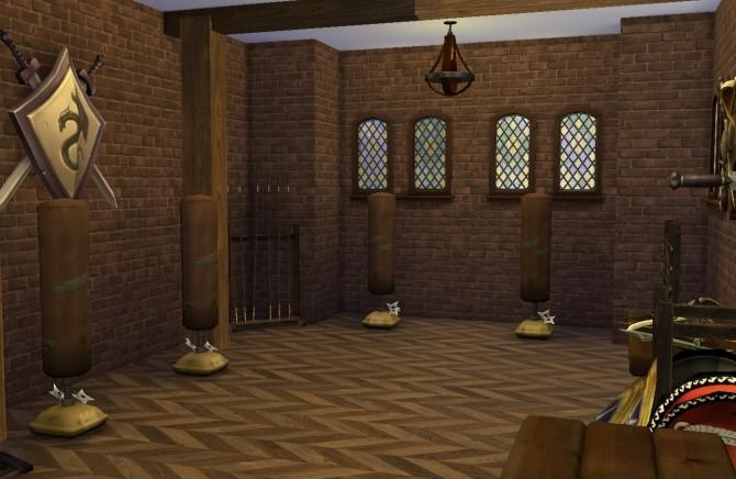 Sims 4 Knights Training Barrack at Historical Sims Life