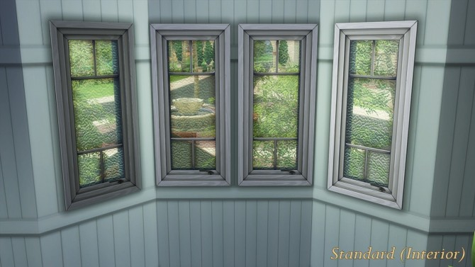 Sims 4 Queenslander Casement Windows (Yeronga Collection) by Beefysim1 at Mod The Sims