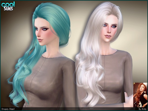 Sims 4 Dynasty (Hair) by Anto at TSR