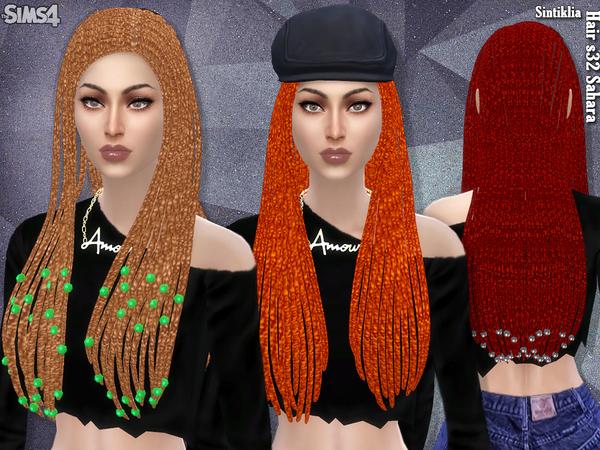 Sahara hair s32 by Sintiklia at TSR image 3815 Sims 4 Updates