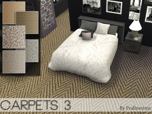 Sims 4 Carpets 3 by Pralinesims at TSR