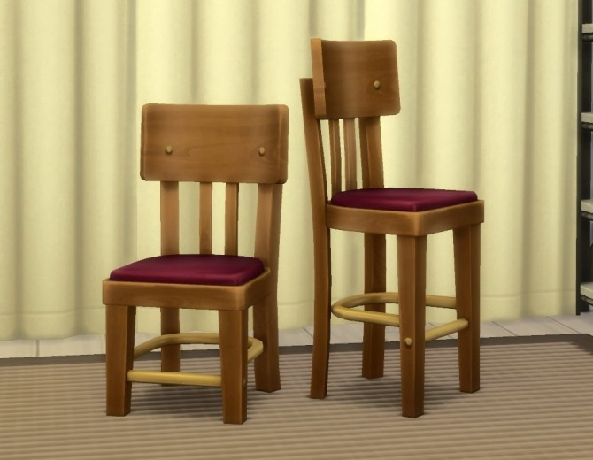 Old Local Comfy Dining Chair by plasticbox at Mod The Sims image 3818 670x520 Sims 4 Updates