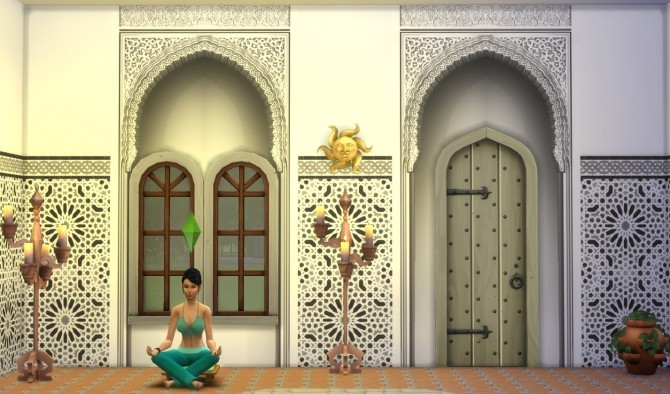 Alhambra Moorish Arch 2 colors by Velouriah at TSR image 3820 670x394 Sims 4 Updates