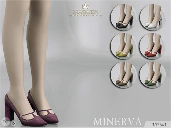 Sims 4 Madlen Minerva Shoes by MJ95 at TSR