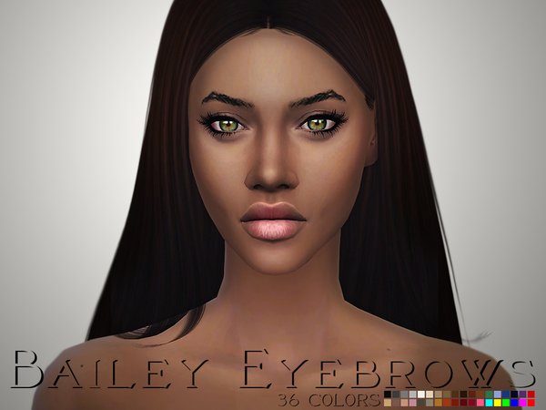 Bailey Eyebrows by Ms Blue at TSR image 3927 Sims 4 Updates