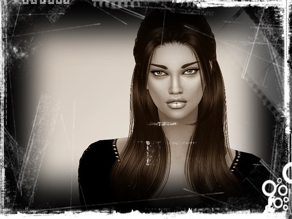 Sims 4 Emily by yvonnee at TSR