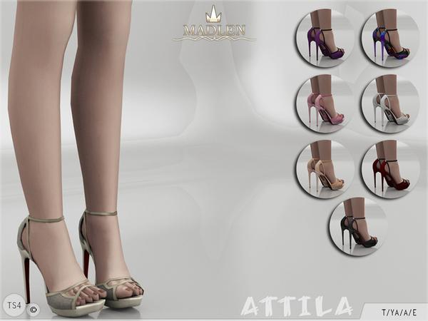 Madlen Attila Shoes at TSR image 4016 Sims 4 Updates
